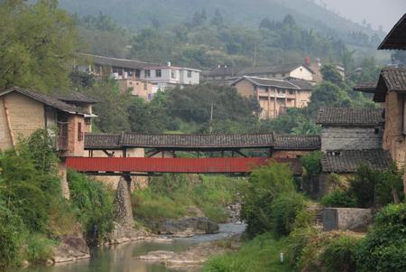 中国田舎風景(中国・福建省) かさこワールド   中国土楼めぐり目次